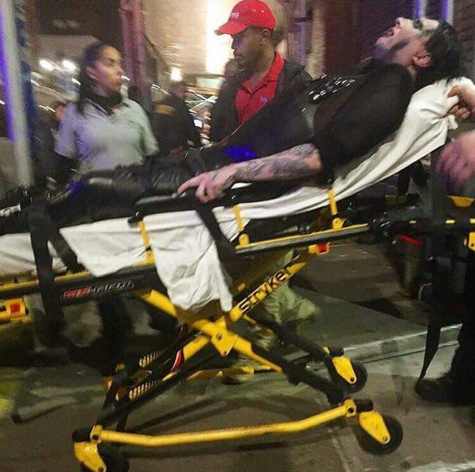 Мэрилин Мэнсон отменил концерты из-за травмы ноги, полученной вовремя падения декораций
