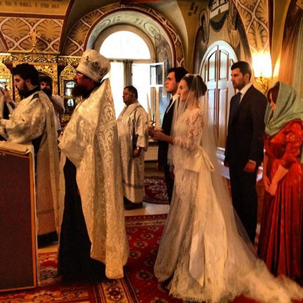 Сон венчание в церкви