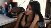 Ким Кардашьян полностью разделась на съемках шоу «Семейство Кардашьян» (10 ФОТО)