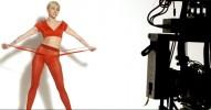 Майли Сайрус в рекламе колготок Golden Lady