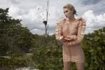 Эльза Хоск в журнале Harper's Bazaar
