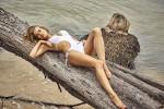 Российская модель Таня Митюшина