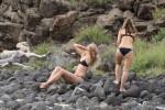 Мария Шарапова наслаждается пляжным отдыхом на Гавайях (21 ФОТО)