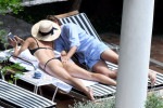 Мария Шарапова и Александр Гилкс на курорте