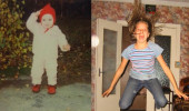 Ольга Антипова в детстве