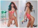 Эмили Ратаковски в рекламе купальников