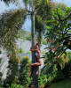 Кэти Топурия в купальнике на пляже