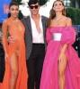 Итальянские модели на красной ковровой дорожке Венецианского кинофестиваля