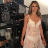 52-летняя Элизабет Херли в нижнем белье