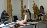 68-летний Игги Поп попозировал голым для художников