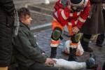 Музыканту группы «Вопли Видоплясова» сломали ногу бойцы «Беркута»