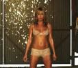 Дженнифер Энистон в роли стриптизёрши на съёмках картины «Мы — Миллеры»