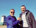 Арнольд Шварценеггер впервые в жизни посетил Киев