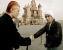 Ретрофото. Дэвид Боуи и Игги Поп на Красной площади. 1976 год