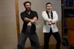 Хью Джекман и Psy