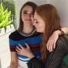 Звезды сериала «Игра престолов» Мэйси Уильямс и Софи Тёрнер