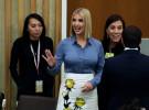 Иванка, дочь Дональда Трампа, пришла на Генассамблею ООН с голой грудью