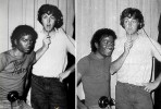 Майкл Джексон и Пол Маккартни в молодости