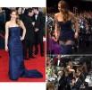 У Дженнифер Лоуренс порвалось платье на церемонии вручения премии Гильдии киноактеров