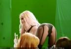 Джессика Альба на съемках «Города грехов 2»