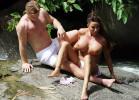 Британская певица и модель Кэти Прайс показала грудь