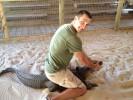 Владимир Кличко сразился с крокодилом