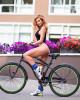 Потрясающая Татьяна Котова на велопрогулке