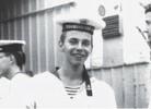Илья Лагутенко во время службы на Тихоокеанском флоте