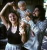 Юный Леонардо ди Каприо с родителями