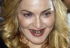 Мадонна украсила рот бриллиантами