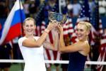 Россиянки Екатерина Макарова и Елена Веснина выиграли US Open в парном разряде
