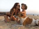 Певица МакSим на отдыхе с дочерью