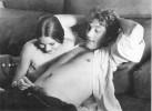Ретрофото. Орнелла Мути и Жерар Депардье на съемках фильма «Последняя женщина». 1976 год