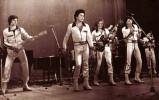 Ретрофото. Певец Николай Расторгуев в составе ВИА «Шестеро молодых». 1979 год