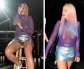 Рита Ора выступила в Лос-Анджелесе с голой грудью и в трусах на замке