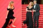 Джулия Робертс прошла босиком по красной ковровой дорожке Каннского кинофестиваля