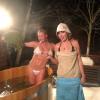 Анастасия Волочкова и Ксения Собчак вместе попарились в бане