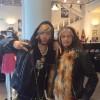 Сергей Зверев и солист группы Aerosmith Стивен Тайлер