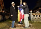Джонни Депп принял участие в открытии памятника самому себе (13 ФОТО)