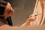 Ирина Личис рисует Алексея Навального
