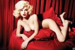 Линдси Лохан для январского «Playboy» в образе Мэрилин Монро (13 ФОТО)