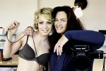 Магдалена Нойнер снялась в рекламе нижнего белья фото