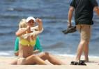 Мария Шарапова восстанавливается от травмы на пляже (5 ФОТО)