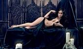 Настасья Самбурская в готической фотосессии для журнала «Maxim» (5 ФОТО)