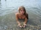 Обнажённая Оксана Почепа (Акула) фото
