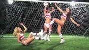 Солистки группы «Серебро» обнажились ради футбола (9 ФОТО)