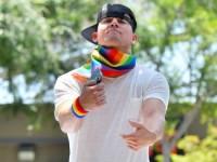 Ченнинг Татум выступил на гей-параде (ФОТО)