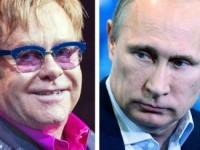 Владимир Путин переговорил с Элтоном Джоном по телефону