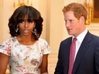Мишель Обама в восторге от принца Гарри