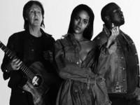 Рианна записала совместную песню с Полом МакКартни и Канье Уэстом (ВИДЕО)